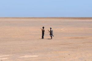 Combatientes leales al presidente yemení Abedrabbo Mansour Hadi en Yemen. Foto:AFP