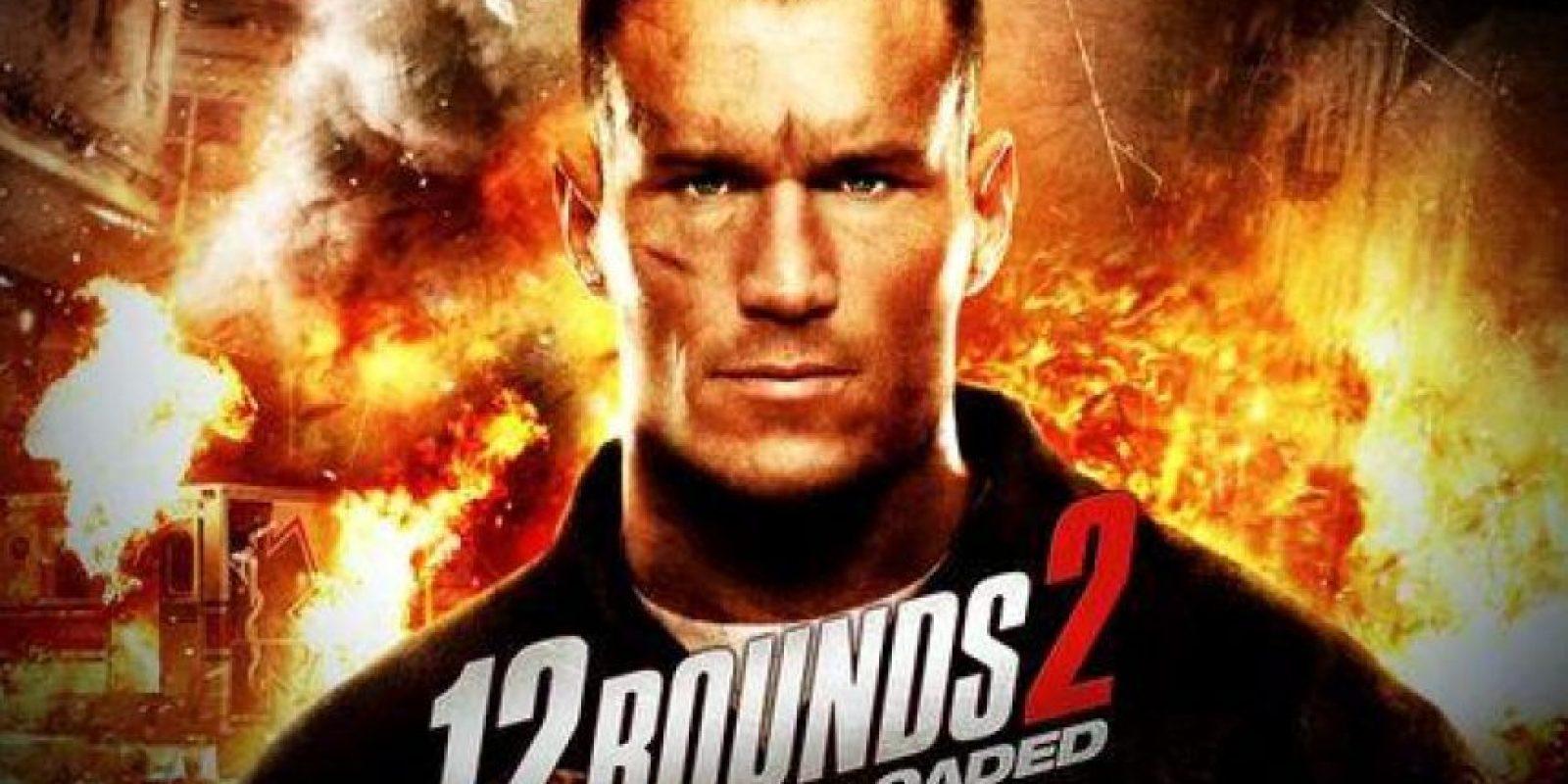 """Orton también protagonizó la segunda entrega de """"12 rounds"""" Foto:WWE"""