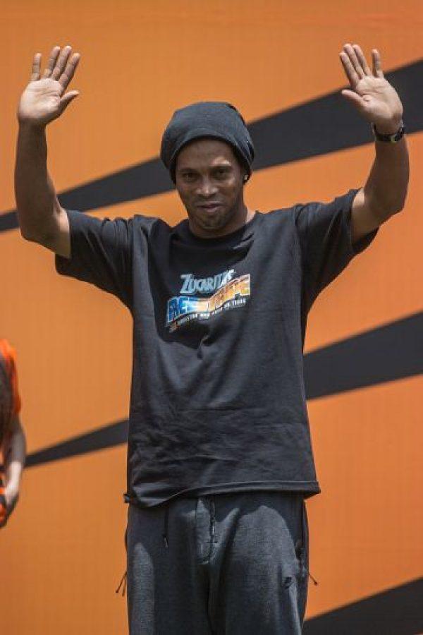 """Por el momento, """"Dinho"""" no tiene equipo, pero tampoco ha pensando en el retiro. Foto:Getty Images"""