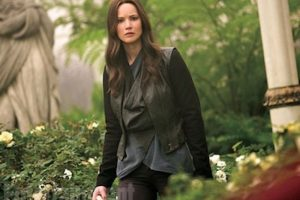 """Katniss"" está decidida a terminar con el presidente ""Snow"" Foto: ""Entertainment Weekly"""