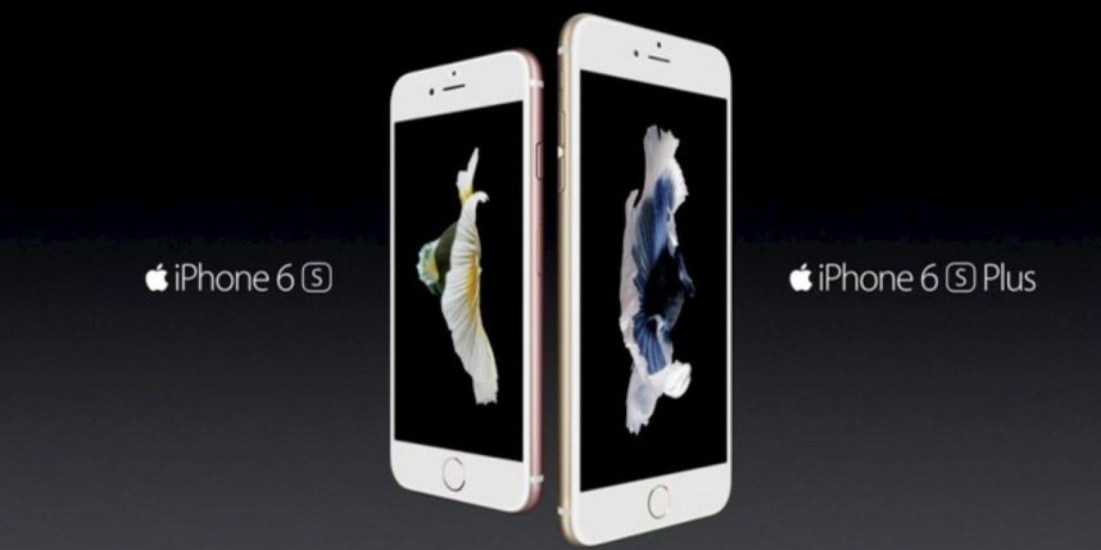 Hay tamaños de 4.7 y 5.5 pulgadas. Foto:Apple