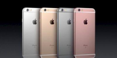 Se agregó al gris espacial, plateado y dorado. Foto:Apple