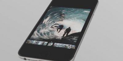 Este es el 3D Touch. Foto:Apple