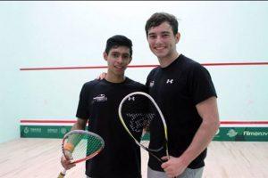 Bonilla (izquierda), de 18 años, era parte de la selección nacional. Foto:COG