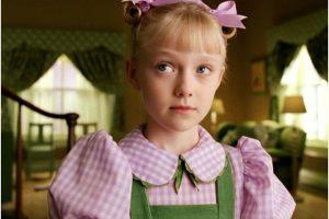 """Le dio vida a """"Sally"""", una niña muy madura para su edad. Foto:IMDB"""
