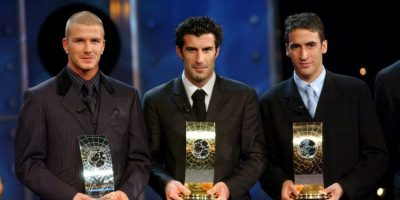 2001: Luis Figo Foto: Getty Images