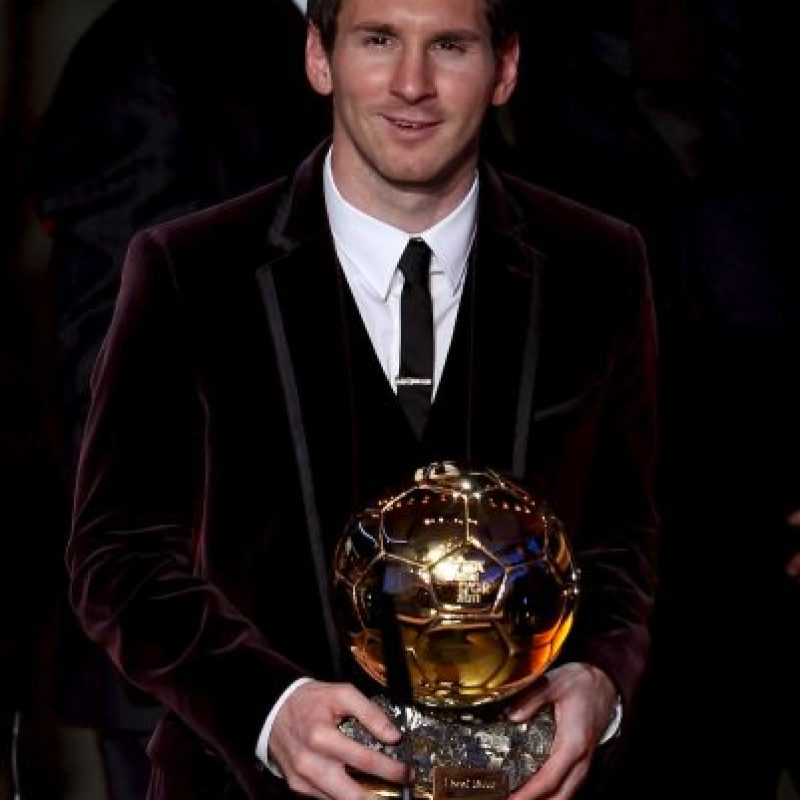 2011: Lionel Messi Foto:Getty Images