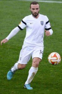Tiene 34 años, pero tras finalizar su contrato con el PAOK de Grecia, no consiguió equipo y ya comienza a pensar en el retiro. Foto:Getty Images