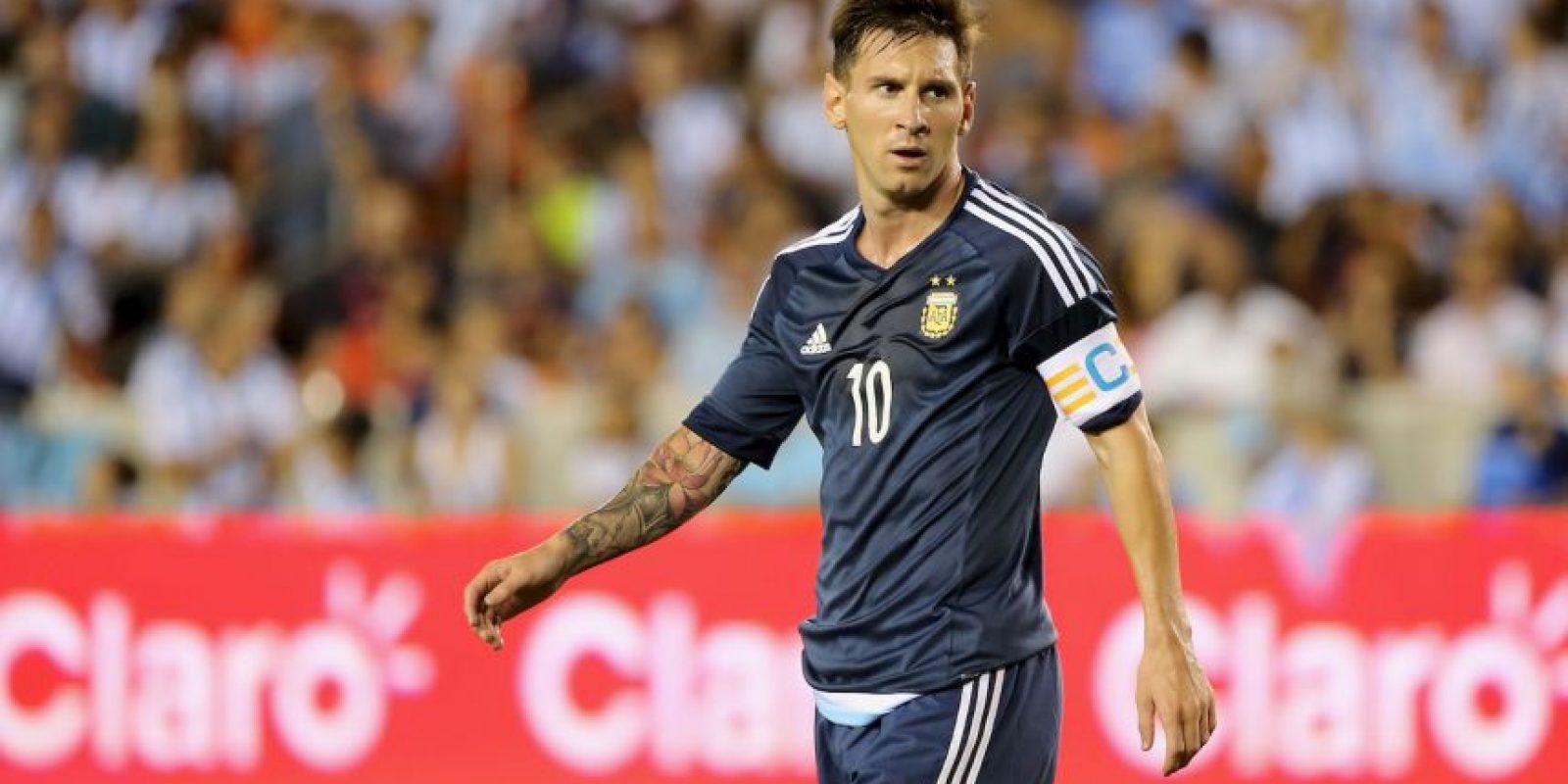 Además, la DEA en Estados Unidos investiga una posible conexión entre los encuentros de Lionel Messi y el narcotráfico. Foto:Getty Images
