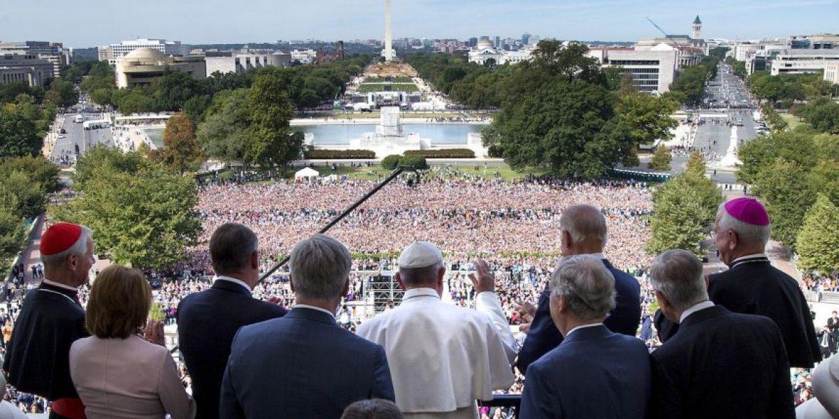 El Papa Francisco se reunió con pareja homosexual en Estados Unidos