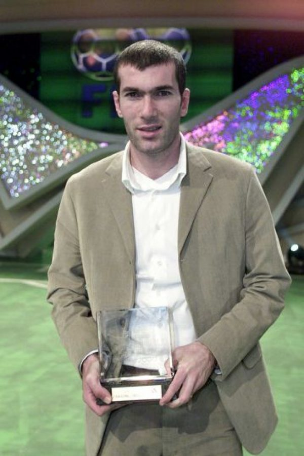 2000: Zinedine Zidane Foto: Getty Images