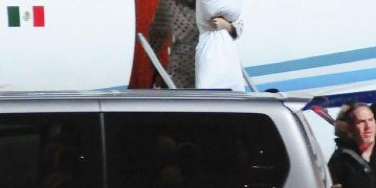 Katy Perry se olvidó del glamour y así llegó a Uruguay