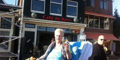 Y ella quería beber una copa de vino en su restaurante favorito. Foto:Vía Facebook.com/wensenrijders