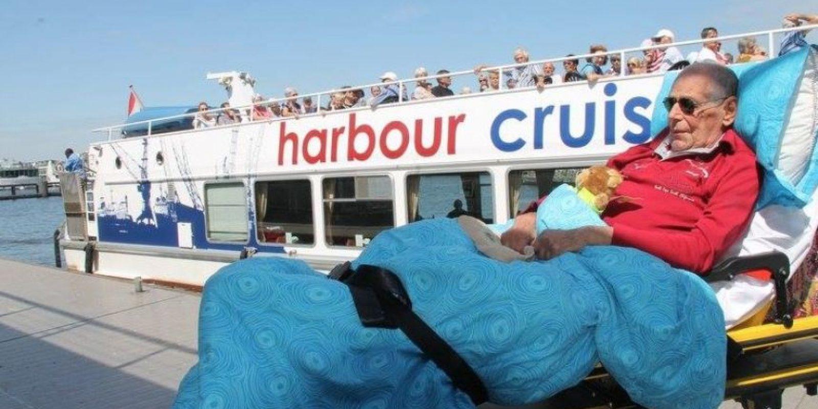 Él quería hacer un último crucero. Foto:Vía Facebook.com/wensenrijders
