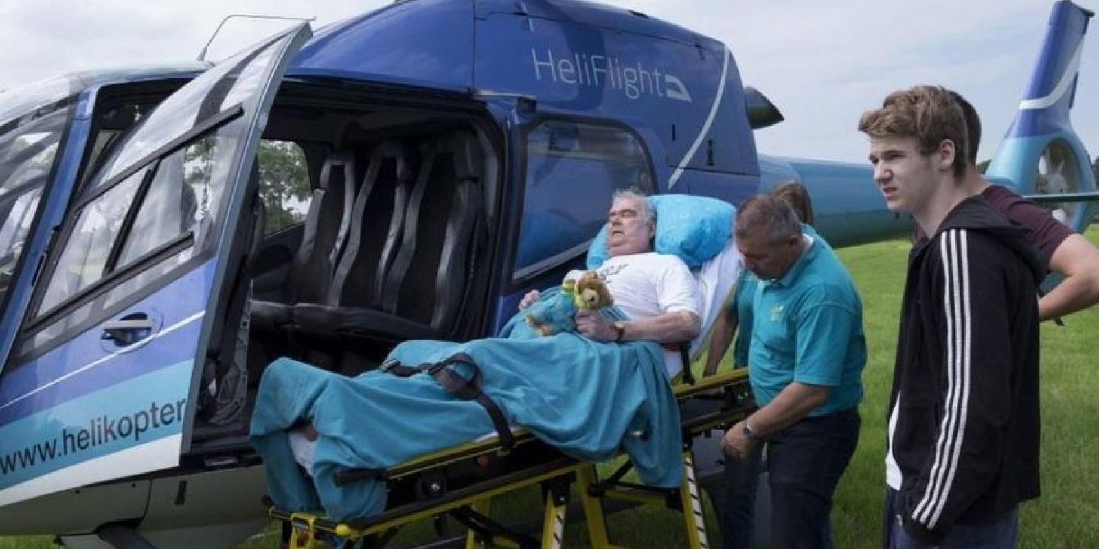 Viajar en helicóptero. Foto:Vía Facebook.com/wensenrijders