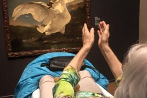 Ver su pintura favorita. Foto:Vía Facebook.com/wensenrijders