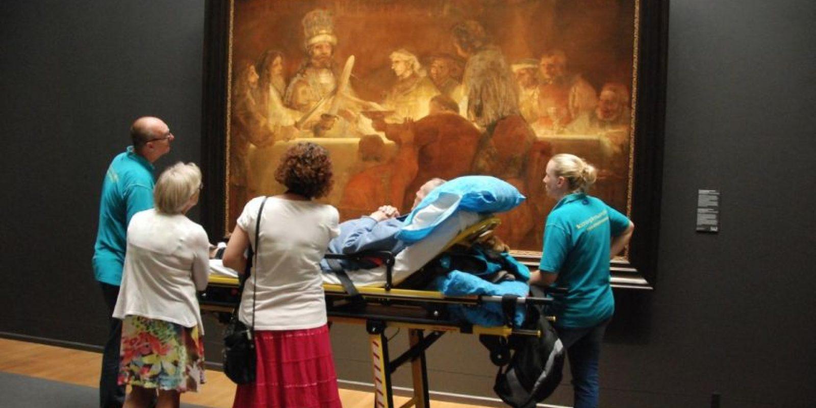 Conocer su pintura favorita. Foto:Vía Facebook.com/wensenrijders