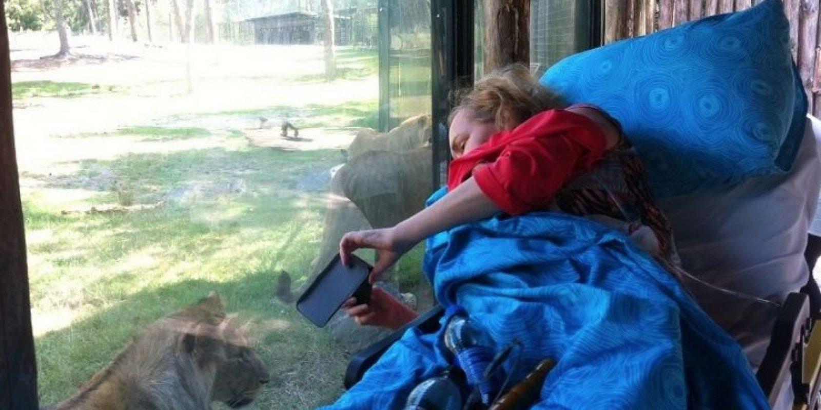 Ir por última vez al Zoológico. Foto:Vía Facebook.com/wensenrijders