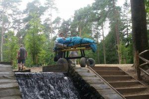 Acudir a su parque favorito. Foto:Vía Facebook.com/wensenrijders