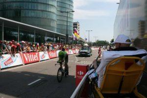 Ver una competencia de ciclismo. Foto:Vía Facebook.com/wensenrijders