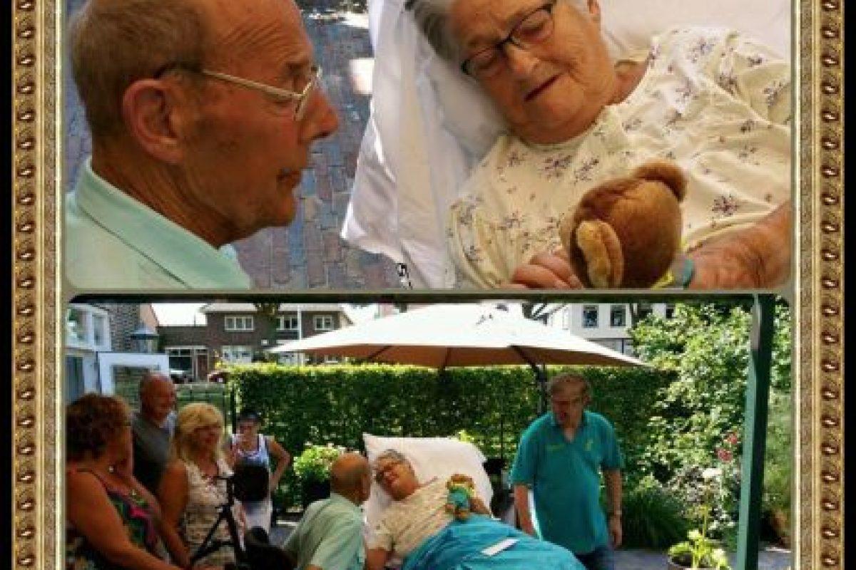 Ella quería compartir un rato en la calle con el amor de su vida. Foto:Vía Facebook.com/wensenrijders
