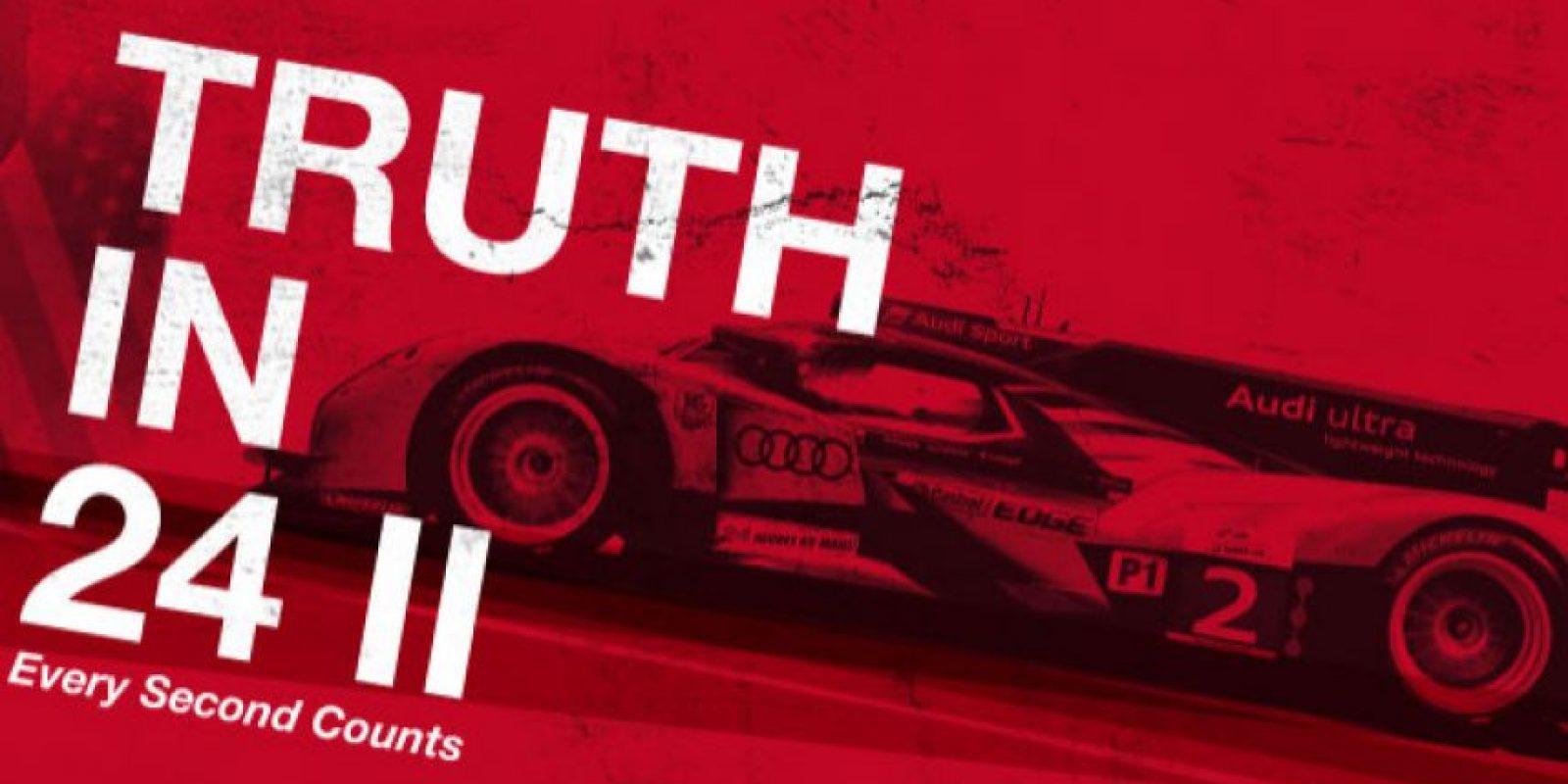 Cada segundo es la crónica del triunfo de Audi en la carrera Le Mans 2011. No es necesario haber visto la primera película para apreciar la segunda Foto:Matthew Whiteman