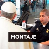 2. Papa Francisco tuvo problemas en la aduana de Estados Unidos Foto:Twitter
