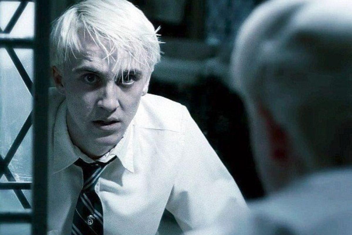 """""""Draco Malfoy"""" se convirtió en un hombre lobo, luego de ser mordido por """"Fenrir Greyback"""". Foto: vía facebook.com/harrypottermovies"""