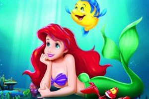 En Disney, Ariel se queda con su Eric. Foto:Disney