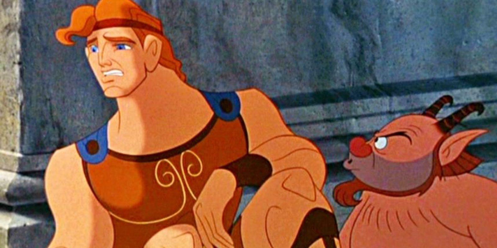 Hércules en Disney queda mortal con Megara y son felices. Foto:Disney