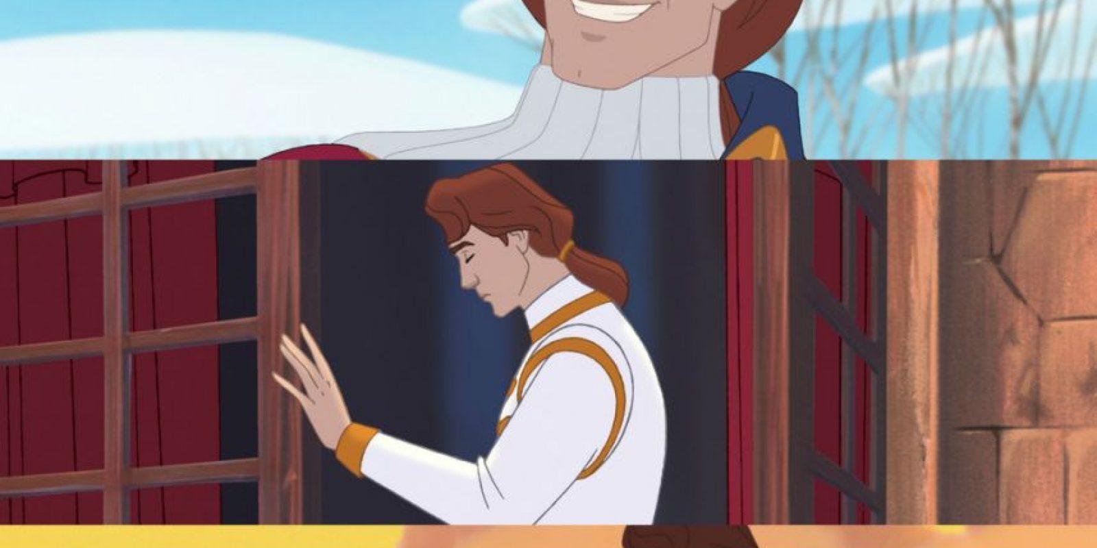 Pocahontas en Disney es feliz con John Rolfe Foto:Disney
