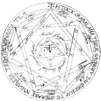 """En 1969, Anton LaVey publicó su """"Biblia Satánica"""" y determinó que existían cuatro demonios que dominaban los cuatro elementos. Foto:vía Tumblr"""