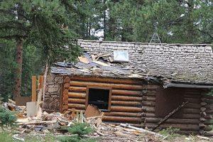 Eso fue en Woodland. Cuando iban a derribarla, encontraron el cadáver. Foto:Pikes Peak Courier