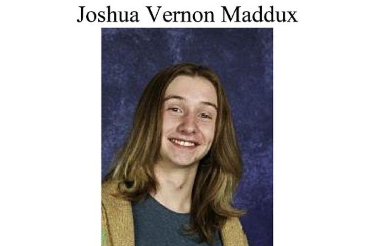 Joshua Vernon Maddux era un adolescente de 18 años que un día desapareció de su casa. Eso fue en 2008. Foto:Colorado Bureau of Investigation
