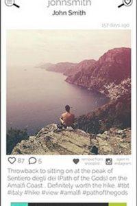 2.- El número de usuarios que siguen o les siguen no debe superar los 50 mil Foto:Olivia Orchowski