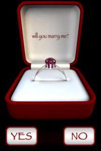 Si no saben como proponer matrimonio a su pareja, esta app lo hará por ustedes. Aunque si no saben cómo hacerlo, mejor no lo pidan Foto:Kobi Snir