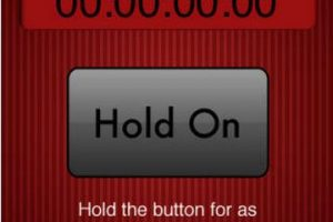 Compite con tus amigos para saber quién puede presionar durante más tiempo este botón… y solo eso Foto:IMAK Creations