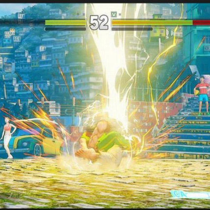 También sabemos que Laura será capaz de dominar la electricidad Foto:Capcom