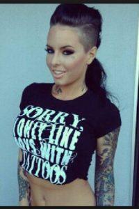 comenzó su carrera de modelo como modelo de tatuaje Foto:Instagram
