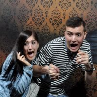 Cada mes recuperan las mejores fotografías de los asistentes justo en el momento cuando son asustados Foto:NightmaresFearFactory.com
