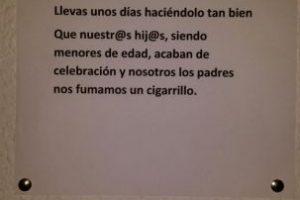 Los que felicitan. Foto:vía DramaEnElPortal/Tumblr
