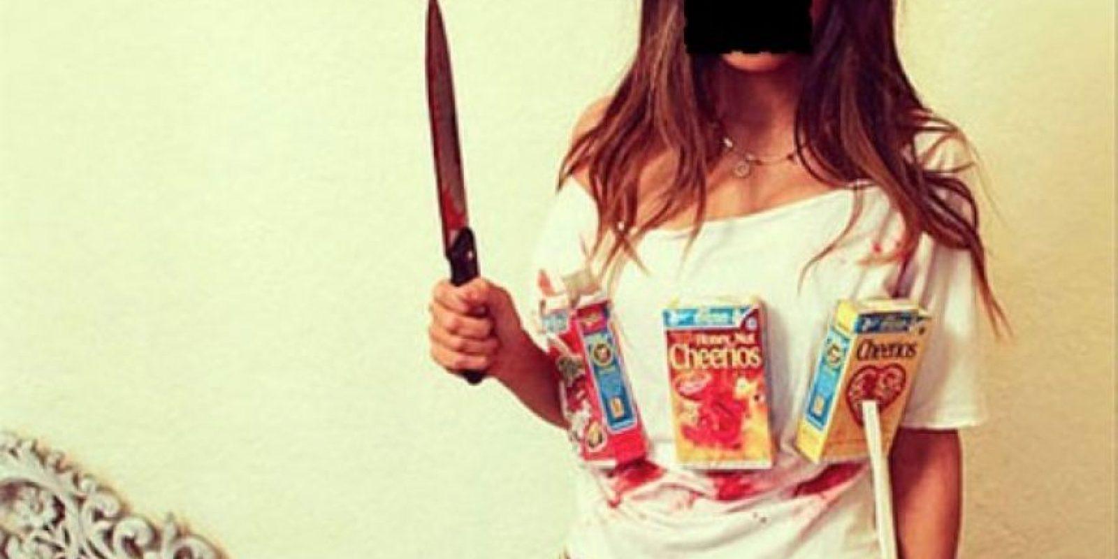 """""""La asesina de los cereales los matará de asco con este disfraz"""". Foto:vía Tumblr"""