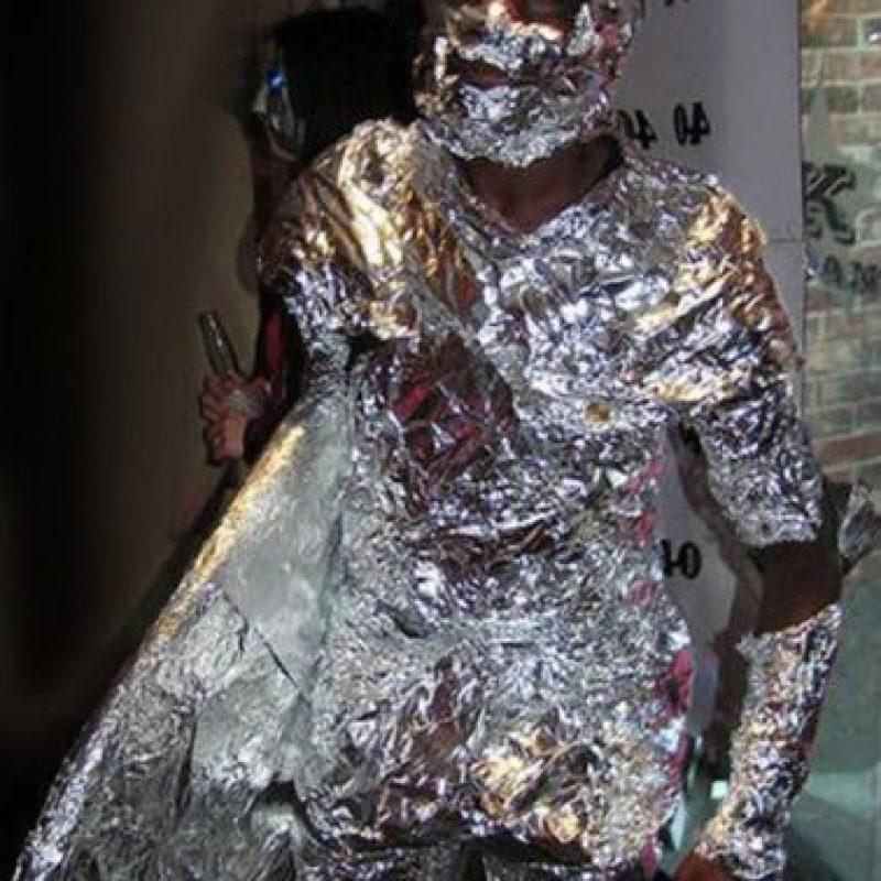 """Eso el papel aluminio se fija, ¿si ves?"" Foto:vía Tumblr"