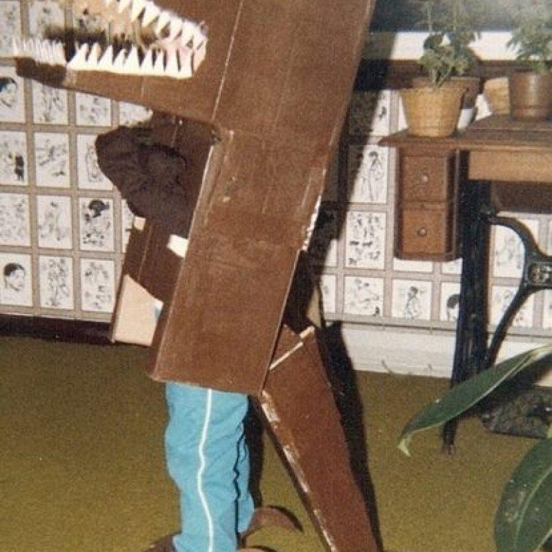 Los dinosaurios de Jurassic Park vieron esto y gruñeron de horror. Foto:vía Tumblr