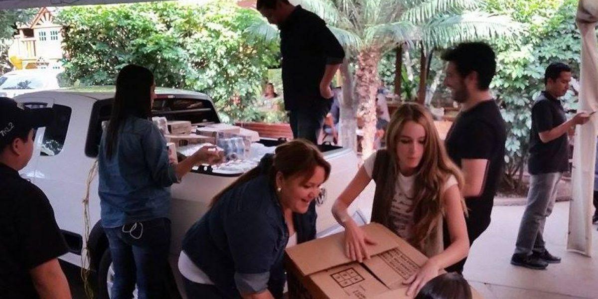 Chef Mirciny Moliviatis junto con artistas reúnen alimentos para damnificados