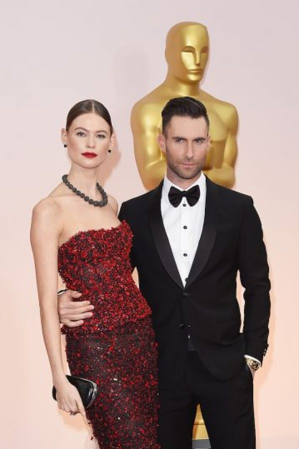 2. Se casó con la modelo Behati Prinsloo en 2014 Foto: Getty Images
