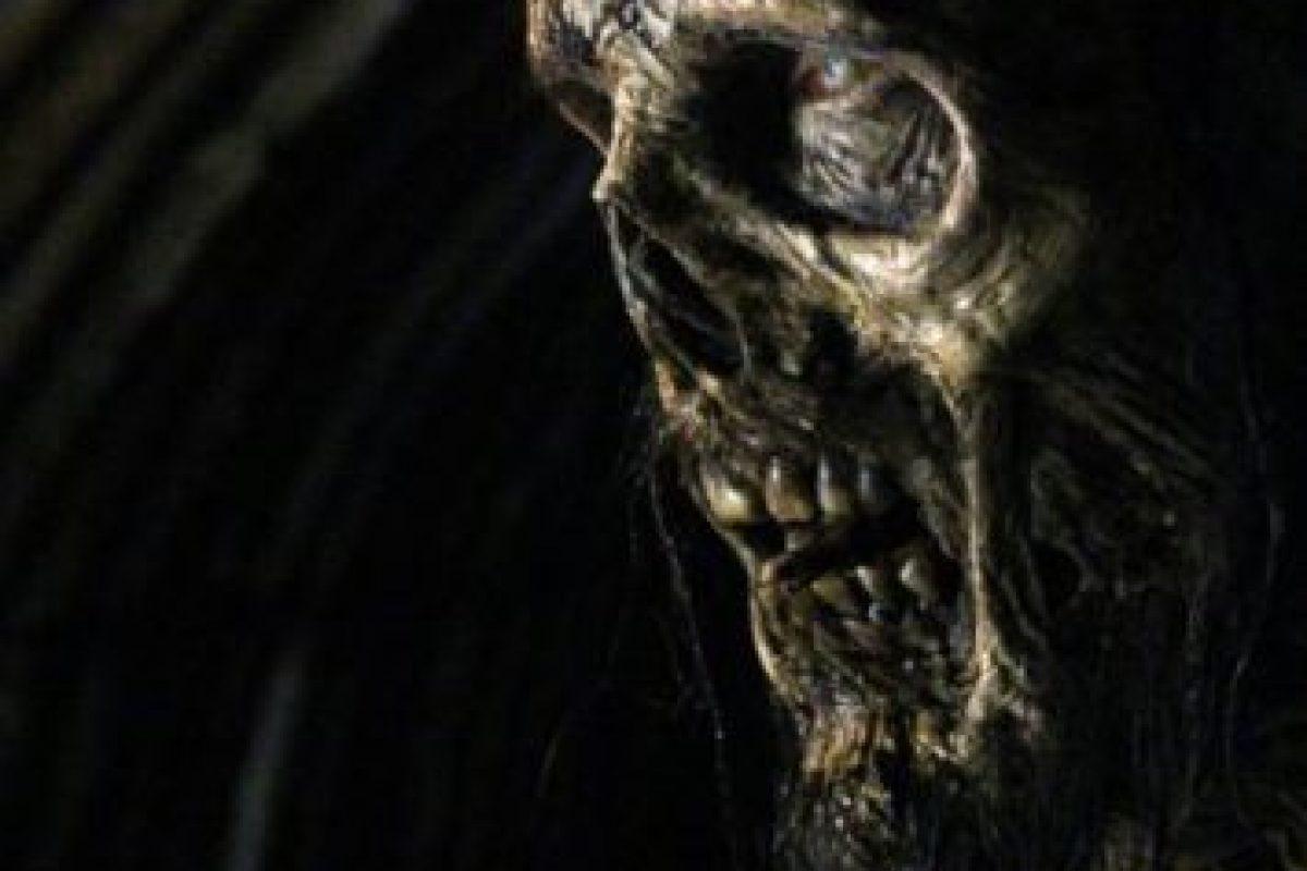 "6. En una escena de ""The Walking Dead"" muestran claramente la metanfetamina azúl de ""Breaking Bad"". Foto:AMC"