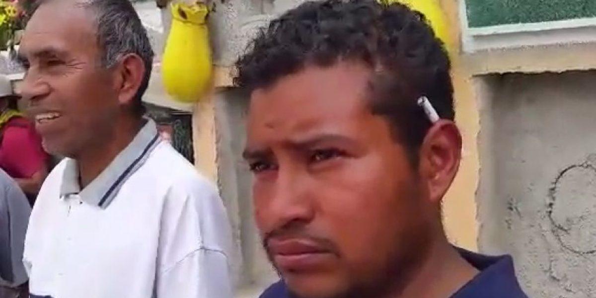 VIDEO. En un abrir y cerrar de ojos todo cambió para Eduardo Castro