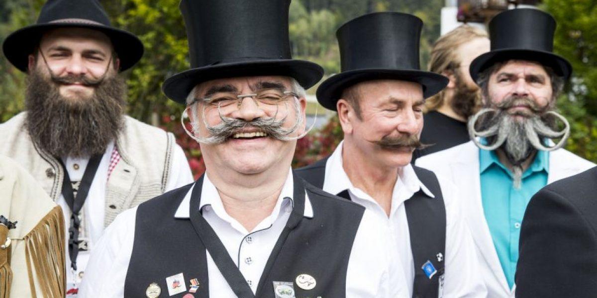 Fotos: Las más excéntricas barbas del Campeonato Mundial de Bigotes
