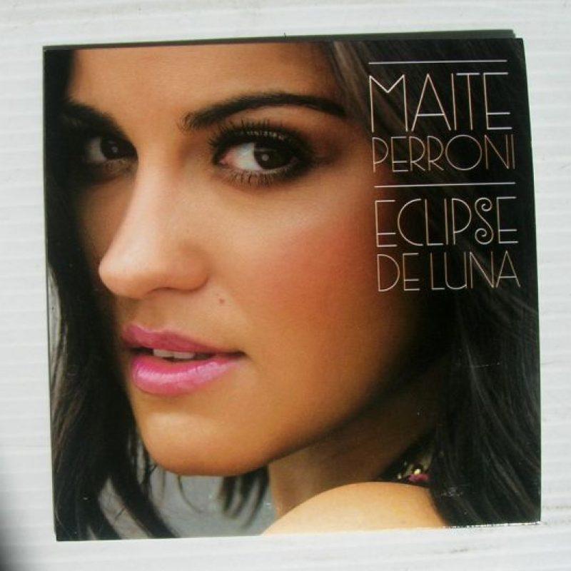 Esta es la portada de su disco. Foto:Maite Perroni